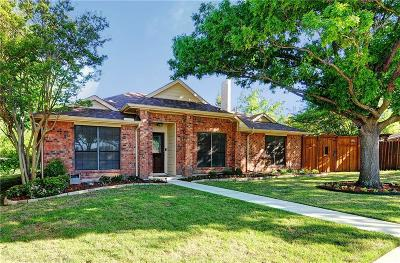 Rowlett Single Family Home Active Option Contract: 8209 Egret Court