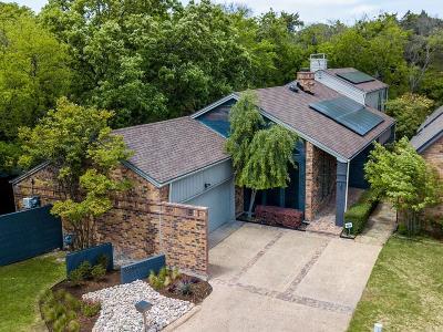Dallas Single Family Home For Sale: 6201 Twin Oaks Circle