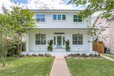 Highland Park, University Park Single Family Home For Sale: 5010 Airline Road