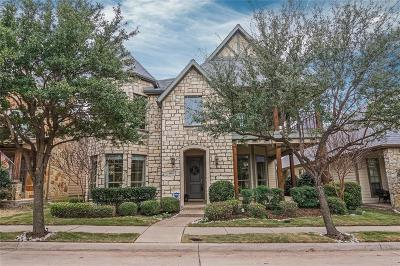 McKinney Single Family Home For Sale: 8005 Texian Trail