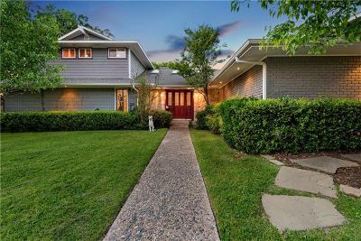 Dallas Single Family Home For Sale: 4211 Cedarbrush Drive