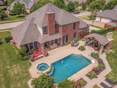 Keller Single Family Home For Sale: 1005 Westover Trail