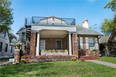 Dallas Single Family Home Active Contingent: 1031 N Madison Avenue
