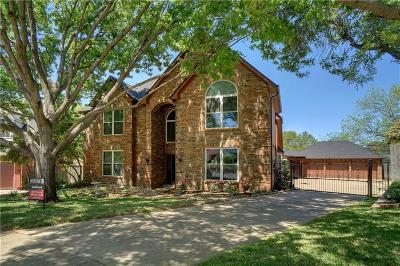 Grapevine Single Family Home Active Option Contract: 3252 Shady Glen Drive