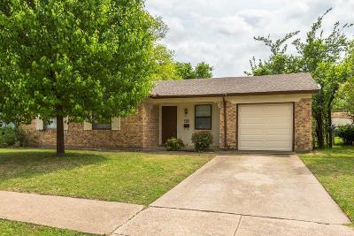 Garland Single Family Home Active Option Contract: 1806 Archery Lane