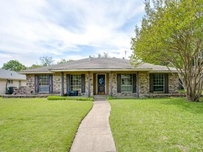 Plano Single Family Home Active Option Contract: 2632 Pin Oak Lane
