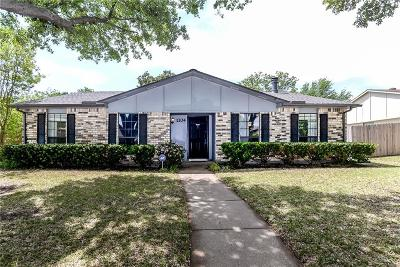 Plano Single Family Home Active Contingent: 1104 Longhorn Drive