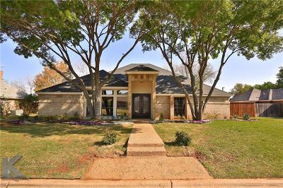 Abilene Single Family Home For Sale: 4018 Inverrary Drive