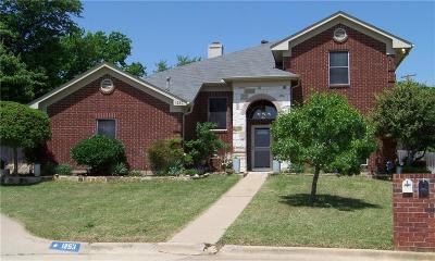 Kennedale Single Family Home Active Option Contract: 1253 Wendy Court