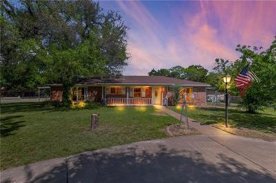 Granbury Single Family Home Active Option Contract: 912 Woodview Drive