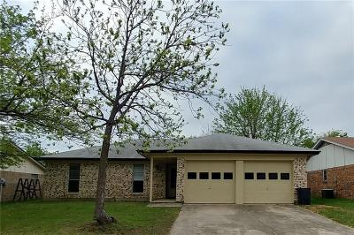 Haltom City Single Family Home Active Option Contract: 5708 Twin Oaks Drive