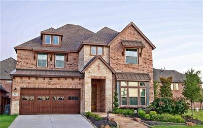 Coppell Single Family Home Active Option Contract: 801 Prescott Lane