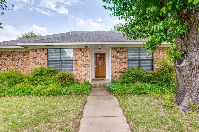 Carrollton Single Family Home Active Option Contract: 3710 Bishop Hill Drive