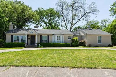 Single Family Home For Sale: 6452 Walnut Hill Lane