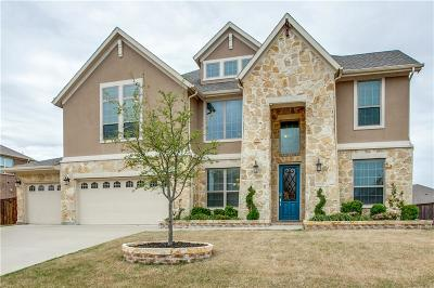 Sachse Single Family Home Active Contingent: 3711 Rock House Road