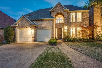 Dallas Single Family Home For Sale: 17206 Meadow Tree Circle