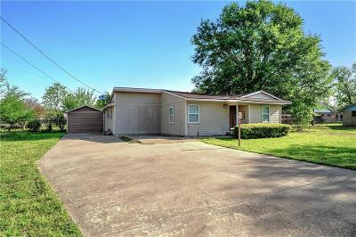 Denison Single Family Home For Sale: 2815 Stafford Drive