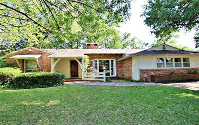 Dallas Single Family Home For Sale: 4214 Northcrest Road