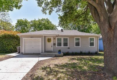 Fort Worth Single Family Home For Sale: 2857 S Hills Avenue