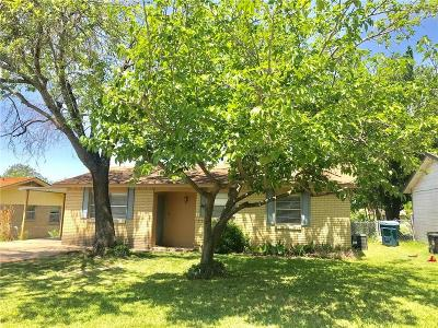Mesquite Single Family Home For Sale: 1411 Briarwood Drive