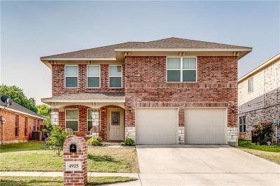 Single Family Home For Sale: 4925 Caraway Drive