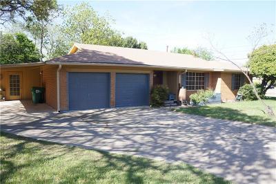 Denton Single Family Home For Sale: 1700 Crescent Street