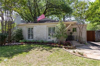 Dallas Single Family Home For Sale: 5618 Stanford Avenue