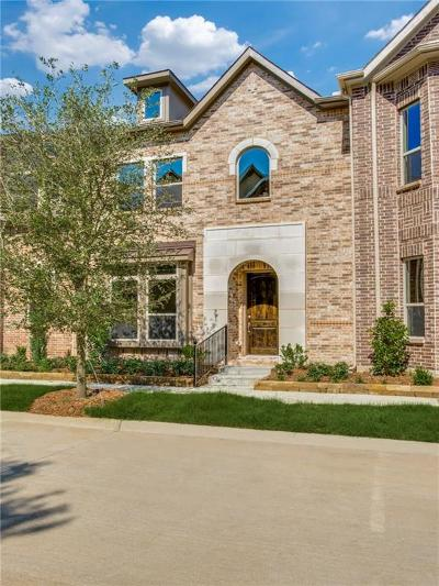 Flower Mound Townhouse For Sale: 4117 Broadway Avenue