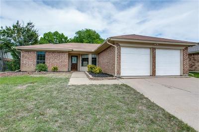 Watauga Single Family Home Active Option Contract: 6445 Ridglea Drive