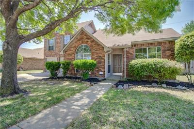 Plano Single Family Home Active Option Contract: 3624 Racquet Court