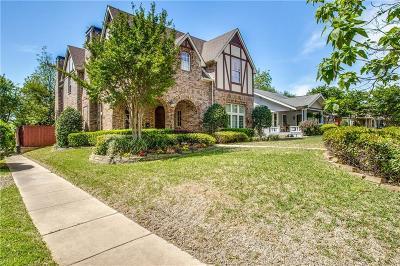 Dallas Single Family Home For Sale: 5946 Velasco Avenue