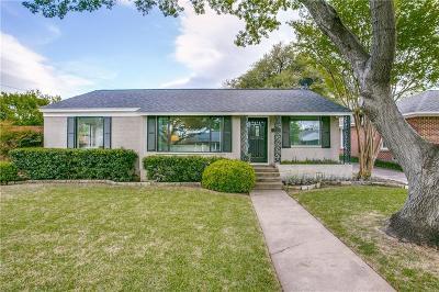 Dallas Single Family Home For Sale: 6170 Saint Moritz Avenue