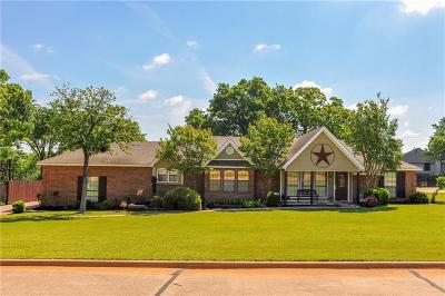 Kennedale Single Family Home Active Option Contract: 1215 Vera Lane