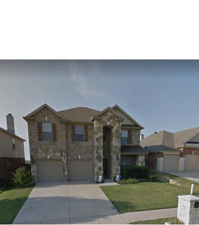 Fort Worth TX Single Family Home For Sale: $297,200
