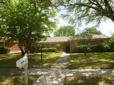 Richardson  Residential Lease For Lease: 1812 Columbia Drive