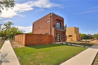 Abilene Single Family Home For Sale: 702 Orange Street