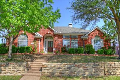 Irving Single Family Home Active Contingent: 9503 Vista Circle