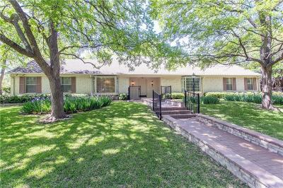 Dallas Single Family Home Active Option Contract: 13743 Sprucewood Drive
