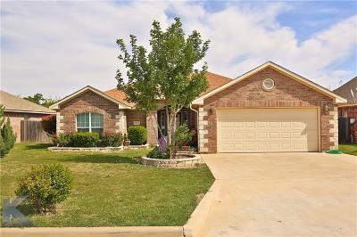 Abilene Single Family Home For Sale: 6634 Sutherland Street