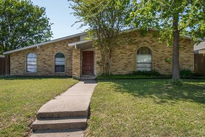 Garland Single Family Home Active Option Contract: 3709 Dumas Trail