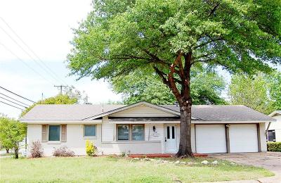 Euless Single Family Home For Sale: 1101 Crane Drive