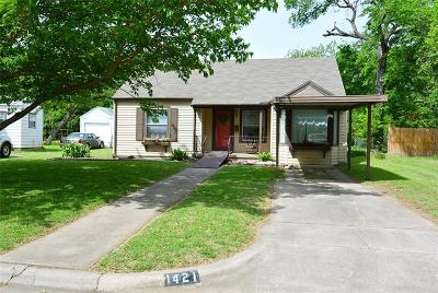 River Oaks Single Family Home For Sale: 1421 Byrd Drive