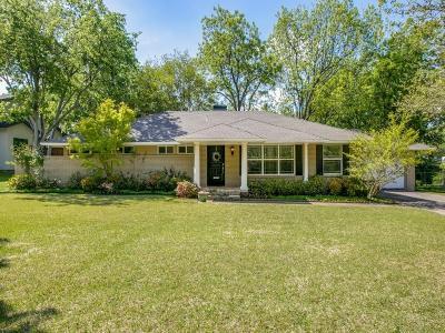 Dallas Single Family Home For Sale: 3852 Constitution Drive