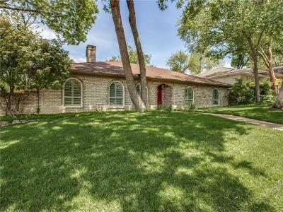 Dallas Single Family Home For Sale: 9117 Loma Vista Drive