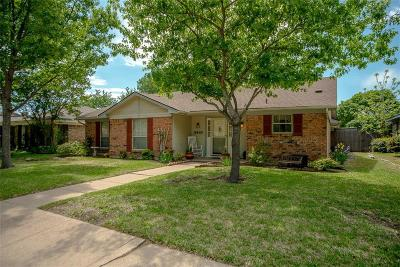 Garland Single Family Home Active Option Contract: 2413 Richview Court