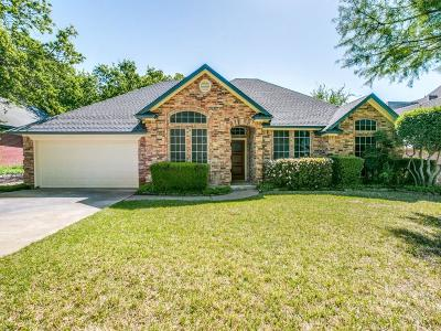 North Richland Hills Single Family Home Active Option Contract: 7228 Plumwood Drive