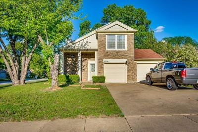 Euless Single Family Home Active Contingent: 1708 Pleasant Trail