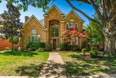 Plano Single Family Home Active Contingent: 3916 Woodlawn Lane