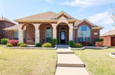Rockwall Single Family Home Active Option Contract: 1379 White Water Lane