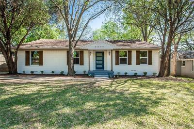 Dallas Single Family Home For Sale: 3074 Newcastle Drive